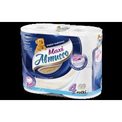 Papier toaletowy ALMUSSO MAXI 4 rolki, 3 warstwowy