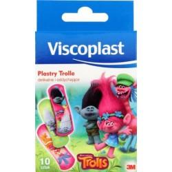 Plasterki dziecięce Trole 10szt Viscoplast 72x25mm