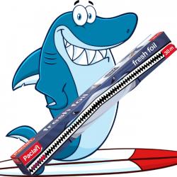 Paclan Folia spożywcza 30m do żywności odcinarka shark