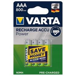 Akumulatorki VARTA AAA 4 sztuki baterie