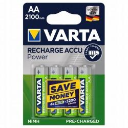 Akumulatorki VARTA AA 4 sztuki baterie