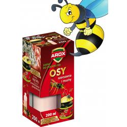 Pułapka na osy szerszenie muchy Arox 200ml zapas
