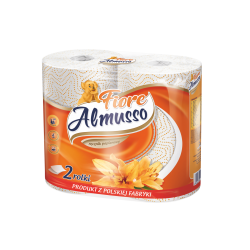 Ręcznik papierowy Almusso Lemon Cytrynowy 2 szt. 2 warstwy