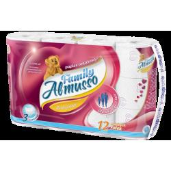 Papier toaletowy Almusso Family 12 sztuk