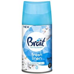 Wkład do automatycznych odświeżaczy Brait 250 ml Fresh Linen