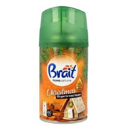 Wkład do automatycznych odświeżaczy Brait 250 ml ŚWIĄTECZNE ZAPACHY Gingerbread House