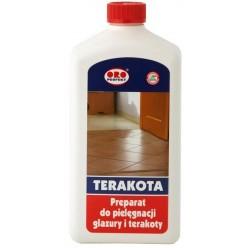 ORO Preparat do pielęgnacji glazury i terakoty  1l TERAKOTA