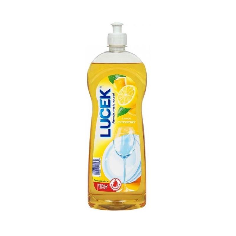 LUCEK cytrynowy płyn do mycia naczyń 500mlLUCEK cytrynowy płyn do mycia naczyń 500ml