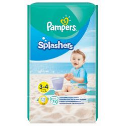 Pieluchomajtki na basen Pampers Splashers rozmiar 3-4
