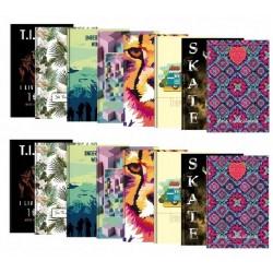 Zeszyt A4 w kratkę twarda okładka 96 - kartkowy
