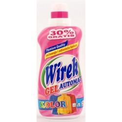 WIREK żel / gel do prania AUTOMAT do koloru   1l