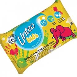 Chusteczki nawilżane szkolne Linteo Kids 15 szt.