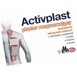 Plaster rozgrzewający leczniczy Activplast 1szt