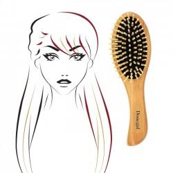 Szczotka do długich i gęstych włosów z drewnianą raczką