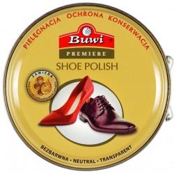 BUWI Premiere pasta stała do obuwia bezbarwna 40g