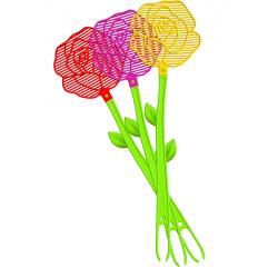 ŁAPKA NA MUCHY BROS kwiatek 1 SZTUKA