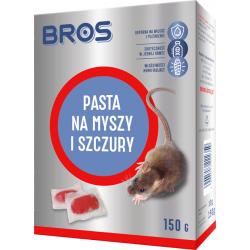 BROS PASTA NA MYSZY SZCZURY GRYZONIE 150gr TRUTKA