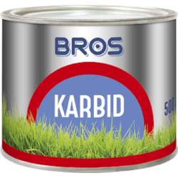BROS karbid granulowany-odstrasza krety,nornice 500gram