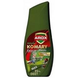 AROX Płyn Deet Max na komary kleszcze i meszki / Zielona butelka