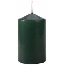 BISPOL 10cm świeca walec 60/100 BUTELKOWA ZIELEŃ
