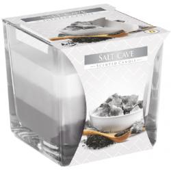 BISPOL ŚWIECE ZAPACH-szkło SALT CAVE 3koloryNOWOŚĆ