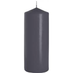 ŚWIECA WALEC SW80/200 kolor SZARY