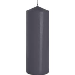 ŚWIECA WALEC SW80/250 kolor SZARY