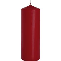 ŚWIECA WALEC SW80/250 kolor BURGUND