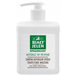 BIAŁY JELEŃ Hipoalergiczne mydło w płynie 500ml