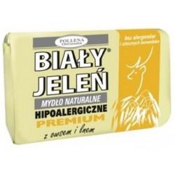 Hipoalergiczne mydło naturalne PREMIUM z owsem