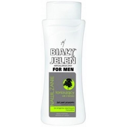 Hipoalergiczny żel pod prysznic BIAŁY JELEŃ FOR MEN z ekstraktem z brzozy