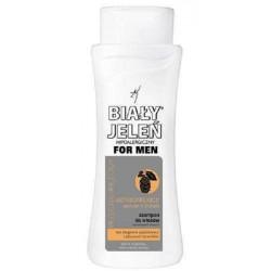 Hipoalergiczny szampon do włosów BIAŁY JELEŃ FOR MEN z ekstraktem z chmielu