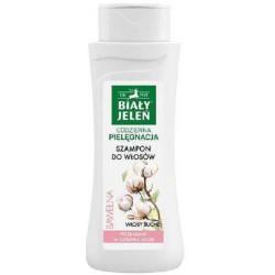 Hipoalergiczny szampon BIAŁY JELEŃ z czystą bawełną