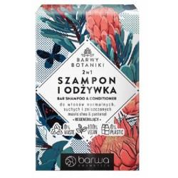 HIT szampon w kostce 2w1 z odżywką Barwy Botaniki BARWA 100g