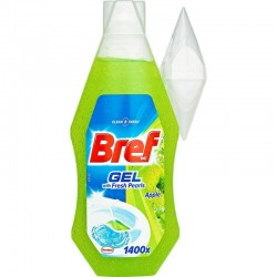 BREF zawieszka wc żel fresh pearls apple 360ml