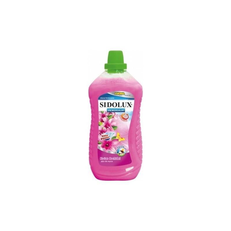 SIDOLUX płyn do mycia podłóg: kwiat orchidei 1l