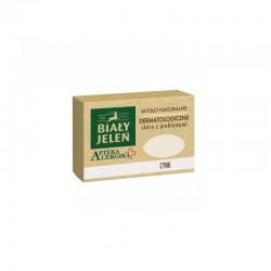Biały Jeleń mydło dermatologiczne z cynkiem Apteka Alergika 125 g