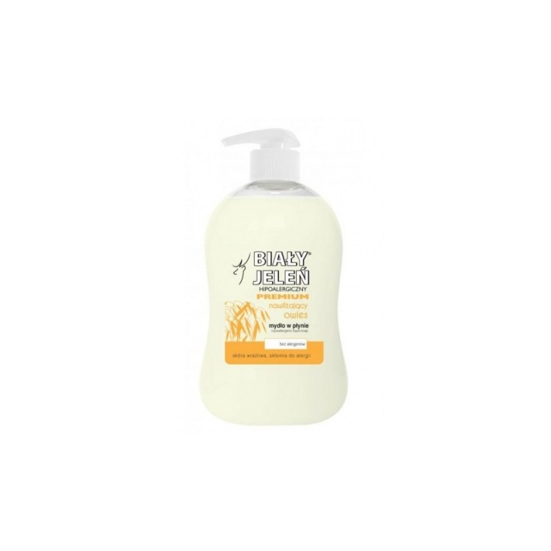 Hipoalergiczne mydło w płynie PREMIUM z ekstraktem z owsa