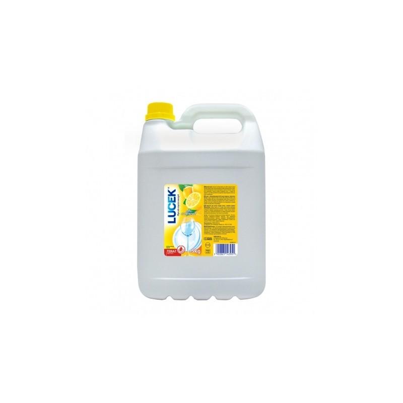 LUCEK cytrynowy płyn do mycia naczyń 5l
