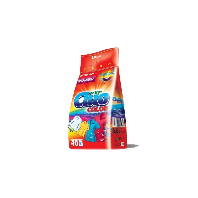 Proszek do prania Cluo Color - 3 kg