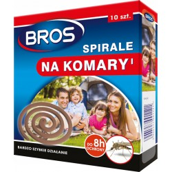 BROS SPIRALE NA KOMARY...