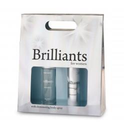 ZESTAW Jean Marc Brilliants dla kobiet (perfuma + dezodorant)