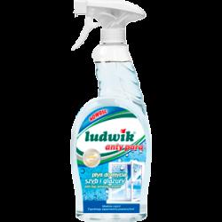 LUDWIK Płyn do mycia szyb i glazury anty para 750 ml