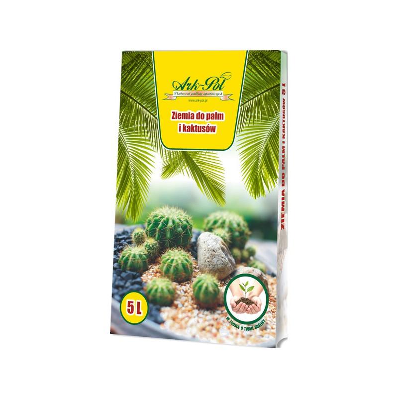 Ziemia podłoże do palm i kaktusów 5L