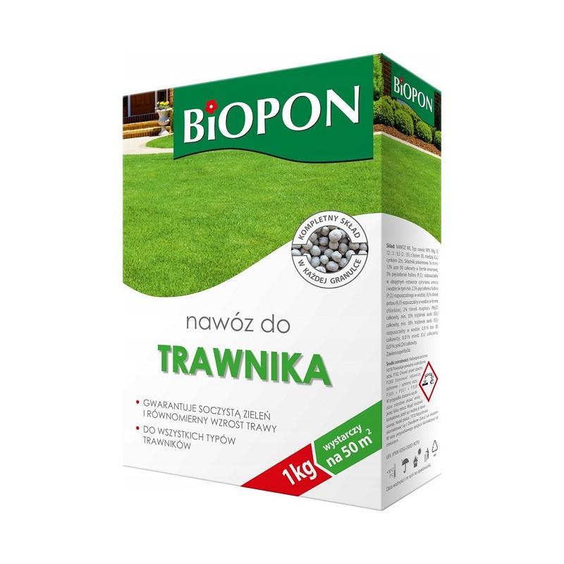 BIOPON nawóz granulowany do trawnika - 1kg