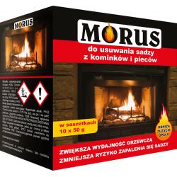 Morus - proszek do usuwania sadzy z kominków i pieców 0.9kg