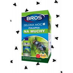 Pułapka na muchy owady BROS ZIELONA MOC wabik eko