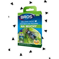 Pułapka na muchy owady BROS ZIELONA MOC wkład