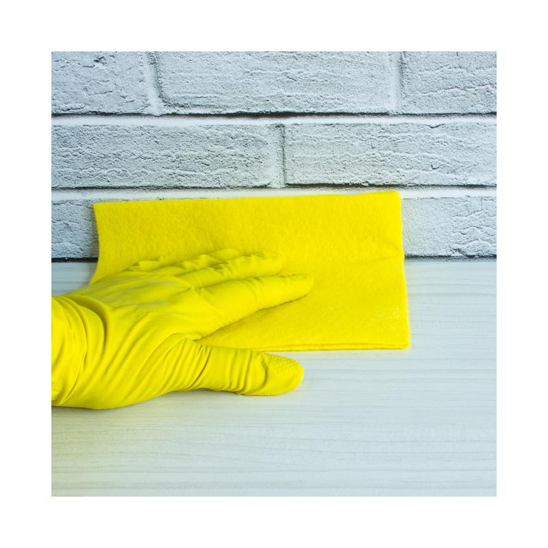 Ścierki kuchenne jak bawełna Paclan żółte 10 sztuk